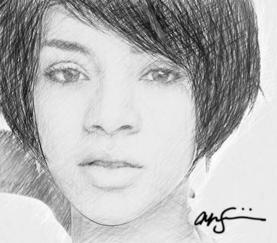 Rihanna por jonji